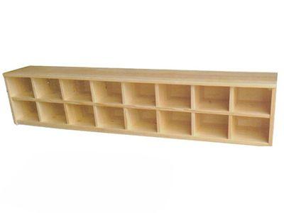 实木鞋柜(16人用)