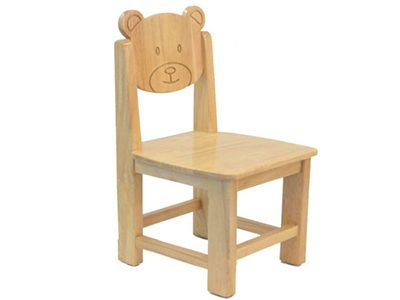 实木熊头椅